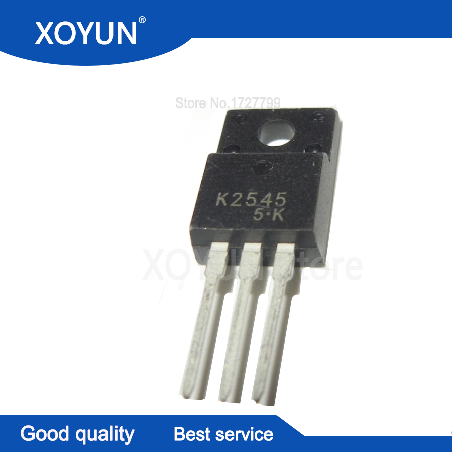 5pcs/lot K2545 2SK2545 TO 220F-in Integrated Circuits from Electronic Components & Supplies
