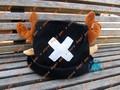 Free shipping!!!  Japan anime one piece Tony Tony Chopper plush cotton cap cosplay hat