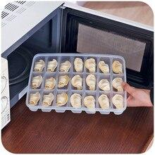 Peut être superposée indépendamment couverture boulette alimentaire cuisine réfrigérateur boîtes, cartons d'oeufs frais fruits de mer boîte de rangement
