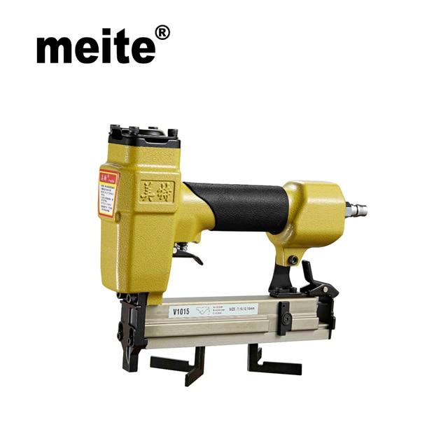 MEITE V1015B 10.3MM Crown Pneumatic Air Stapler For V Nail Air ...