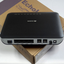 100% оригинальный новый HW HG8240 GPON ONU ONT с 4FE + 2 голосовыми прошивками на английском языке, применяется к режимам FTTH, маршрутизатор Termina Epon