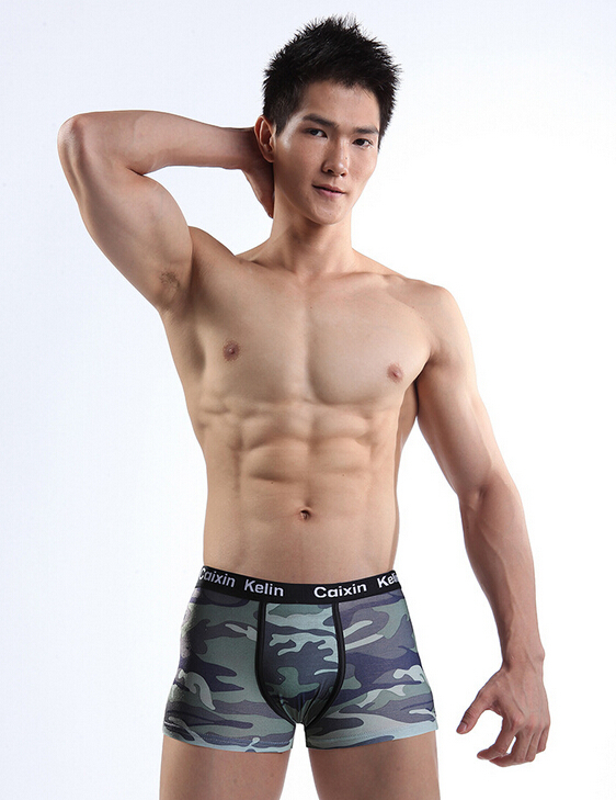 Gay Hot Sale 2015 Underwear Men Shorts Man Six Color Boxer -4703