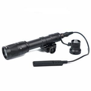 Nowy Tactical M600V IR Scout światła polowanie noc Evolution LED latarka wodoodporna broń światła z przełącznikiem taśmowym