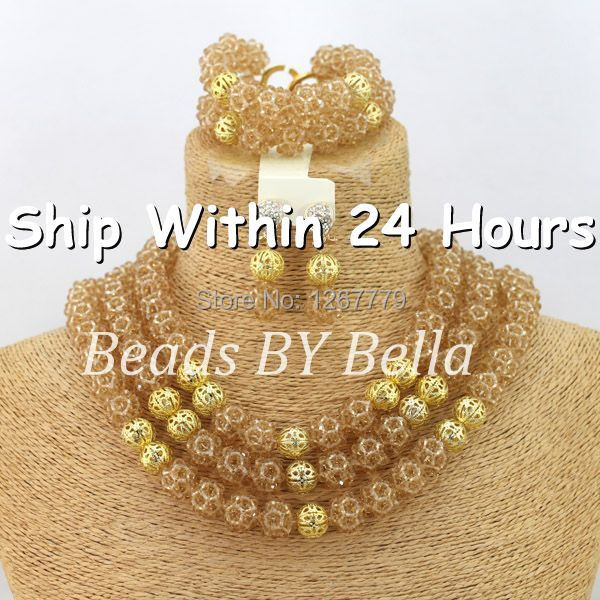 Latest Nigerian Bead Necklaces Wedding Coral Beads Jewelry Set African Beads Jewelry Set 2017 New Free Shipping ABJ872Latest Nigerian Bead Necklaces Wedding Coral Beads Jewelry Set African Beads Jewelry Set 2017 New Free Shipping ABJ872