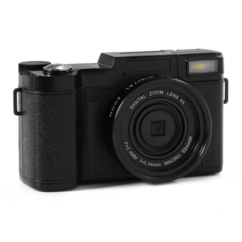 ELRVIKE 24MP HD Half-DSLR Professional Digital Cameras with 4x Telephoto Fisheye & Wide Angle Lens Camera Macro HD Camera