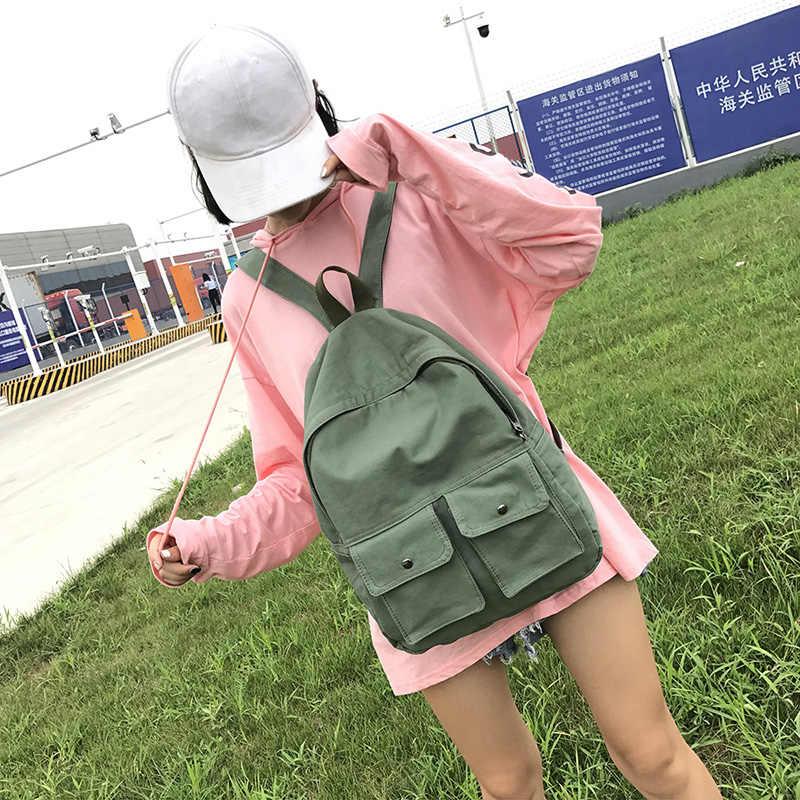 DCIMOR высокое качество холст рюкзак женский досуг рюкзаки милые девочки школьные сумки Портативный Женский Рюкзак Книга сумка рюкзак