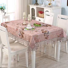 Luxury high-grade coffee table cloth rectangular tablecloth, round tablecloth fabric