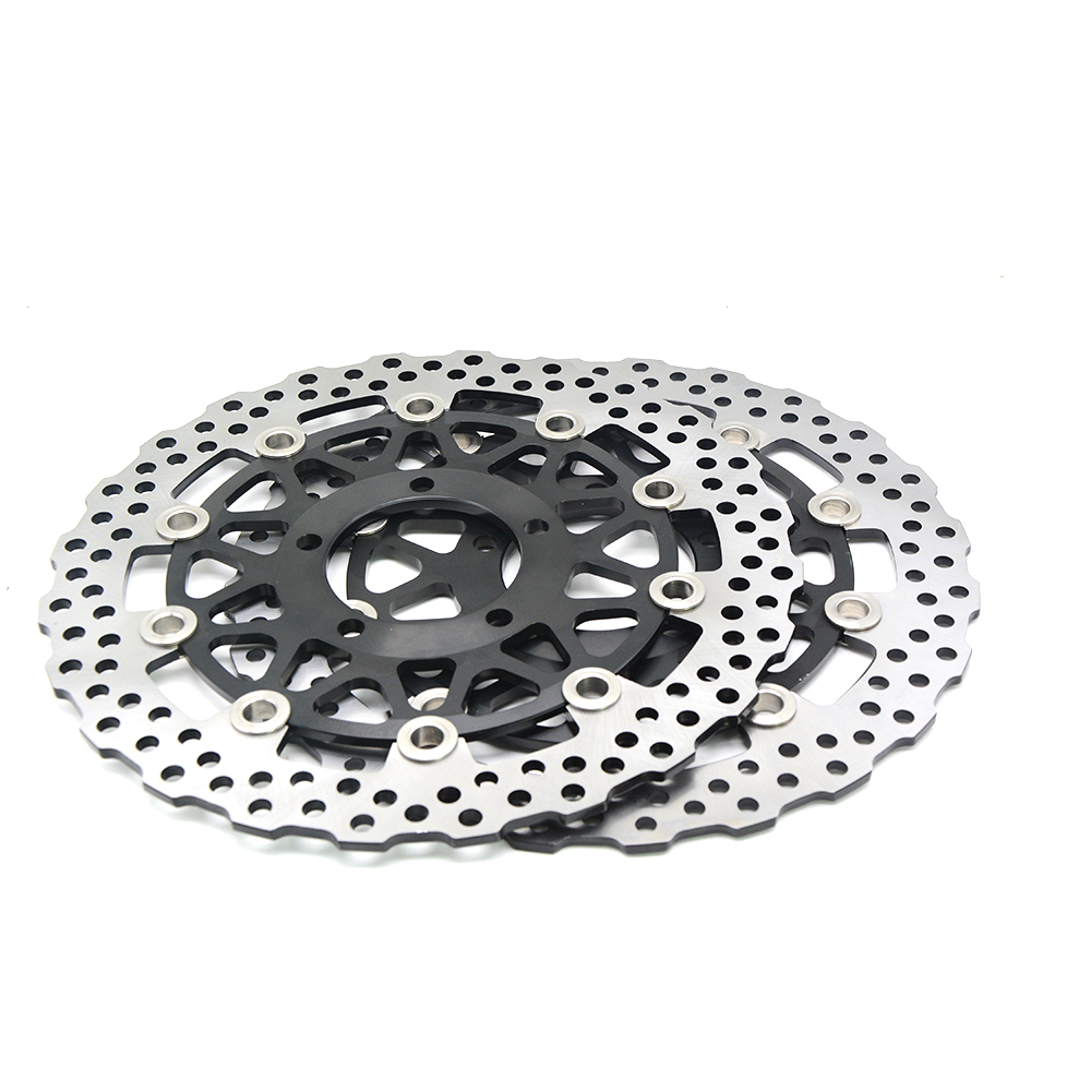 motorcycle accessories Front Brake Disc Rotor  For KAWASAKI ZG 1400 Concours 14 B8F-B9F, DAF ZG1400 2008 2009 2010 2011 motorcycle accessories qianjiang qj150 19a 19c brake disc