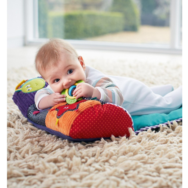Cotton And Soft Baby Play Mats Game Blanket Baby Pillow Baby Toy And Baby Folding Crawling Blanket