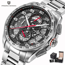 Mens Pilot Watches Top Brand Luxury Sport Chronograph Quartz