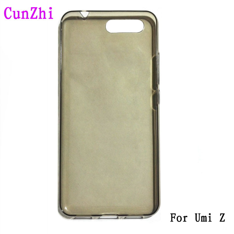 cunzhi Wholesale Soft TPU Cover Cases For Umi Z UMIDIGI Z PRO Original Cell Phones Back Shell (Gift Screen Protector HD Film)