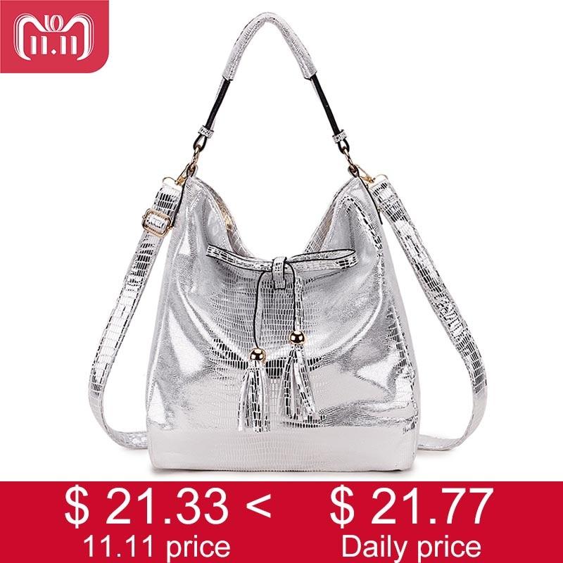SMILEY SUNSHINE New 2018 Women Handbags Hobo Tassel Female Shoulder Bags  Black Big Ladies Bags Vintage 16e6078cb1