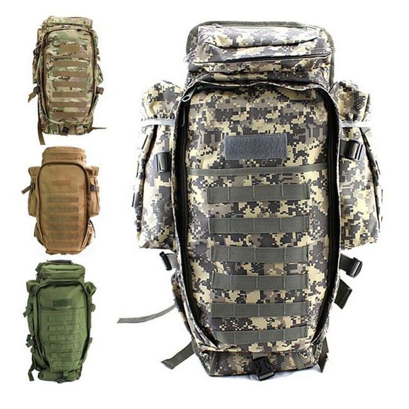2018 100 % 새로운 남자 군사 전술 팩 야외 사냥 배낭 라이플 운반 가방 총 보호 가방 배낭 등반 가방