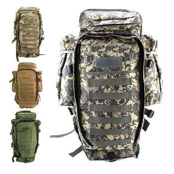 2018 100% novo pacote tático militar dos homens ao ar livre caça mochila rifle saco de transporte caso proteção arma mochilas escalada sacos