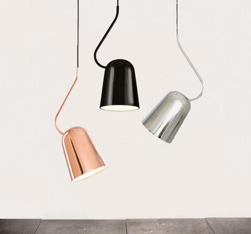 T Creative Modern Pendant Light Bar Lamp Study Room Lighting Restaurant Home Living Room Bedroom Fashion Dining Room Lighting