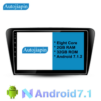 AUTOJIAPIN 10.1 car dvd Android 8.0 car stereo multimedia player for Skoda Octavia navigation with head units touch screen