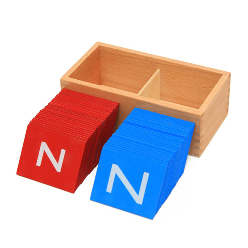 2016 New Arrival Baby Toys Montessori Lower And Capital Case Sandpaper Letters Boxes Wooden Kids Educational Early Development free ship 1 set of 100pc children kids natural wooden build blocks montessori sensorial early development educational material
