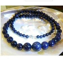 6-12 мм очаровательные разноцветные морганитовые Круглые бусины ожерелье жемчужные ювелирные украшения на нитке цепочке жемчужные украшения-бисер натуральный St