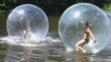 water sport toy,inflatable human water ball,balls for walking on water