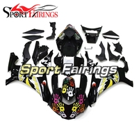 Injection Fairings For Yamaha R1 15 16 Year R1 2015 2016 Complete ABS Plastic Motorcycle Fairing Black Yellow Shark Cowlings