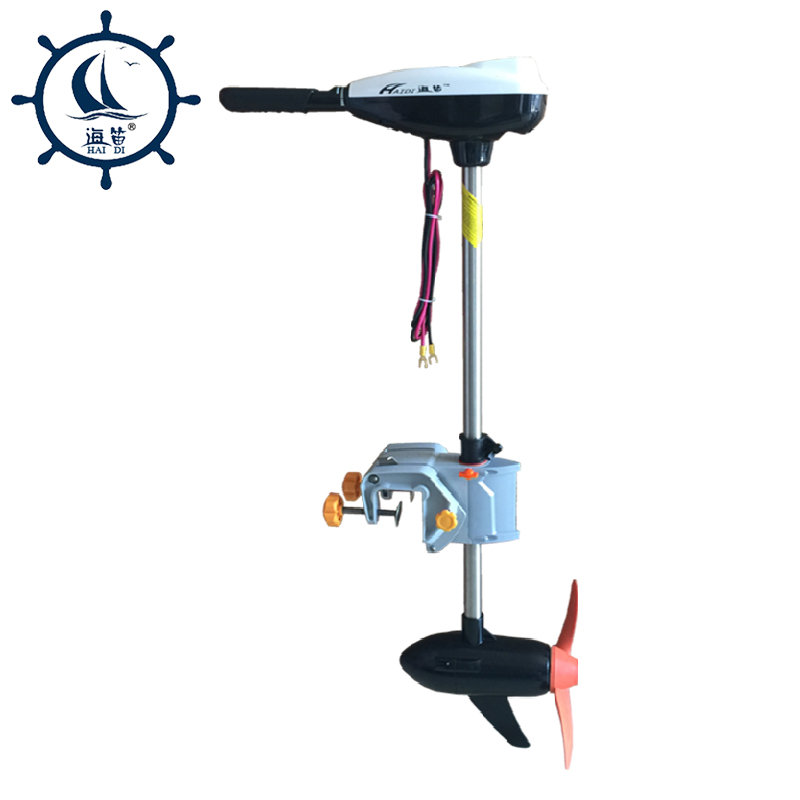 Haidi Brushless Outboards Electric Outboard Motor Propeller Plane Hanging Pound 180LBS 5.5T Stern Drive Motor Boats DC 24V