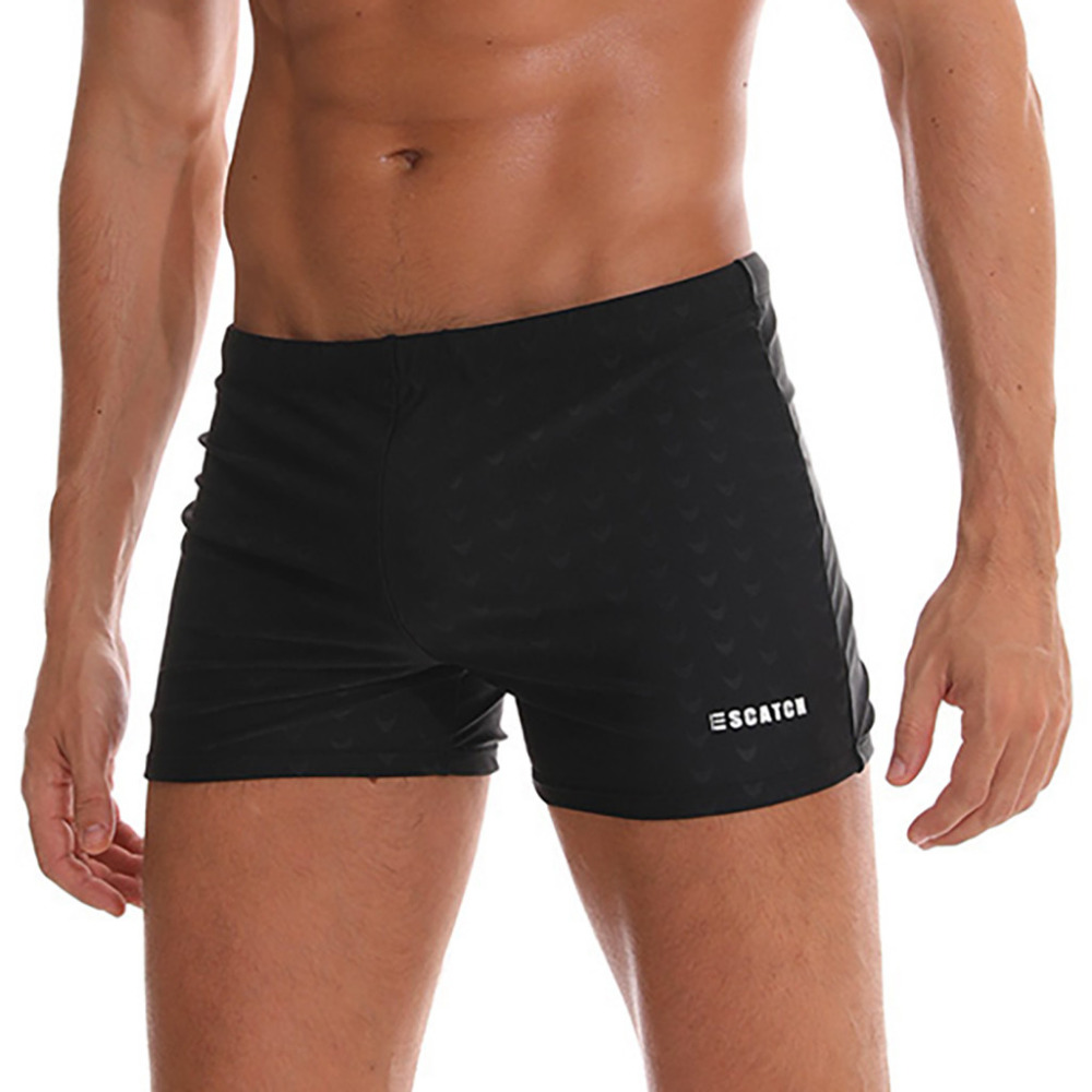 Swimwear Men Pants Swimsuits Sports Male Quick-Dry Breathable Outdoor -A title=