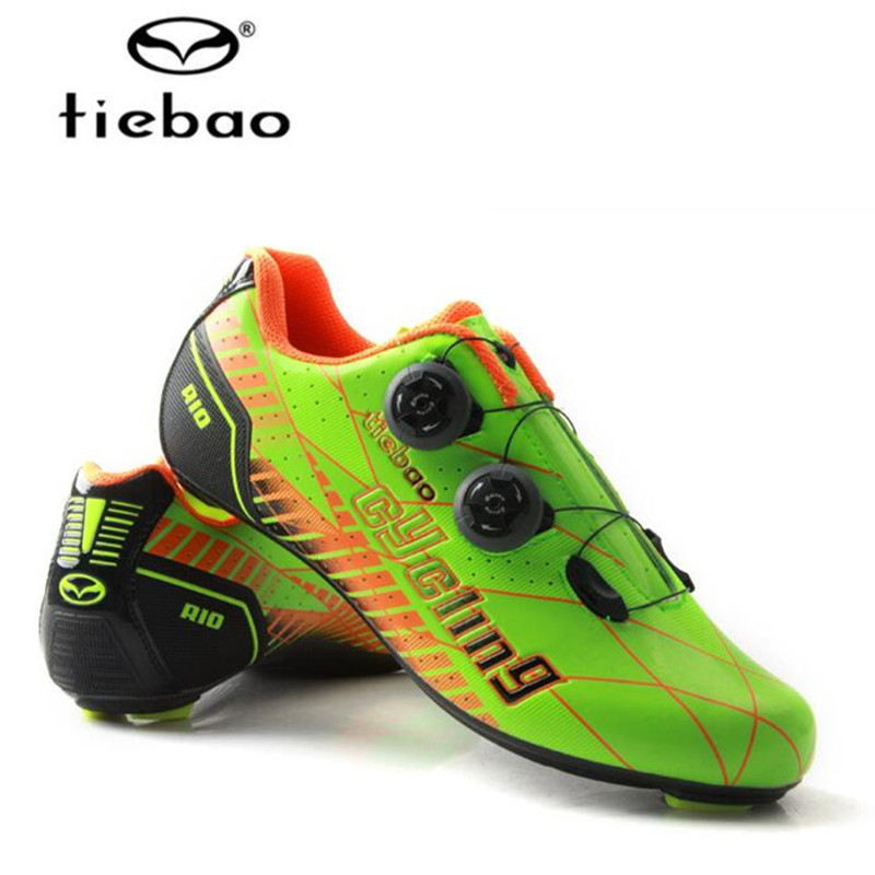 Tiebao Road Carbon Cycling Shoes men 2018 Outdoor Professional Road Bicycle Shoes Women Men Carbon Bike Shoes Sapatilha Ciclismo