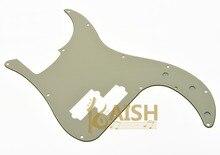 USA Spec Precision Bass P Bass Pickguard Scrach Plate Aged White