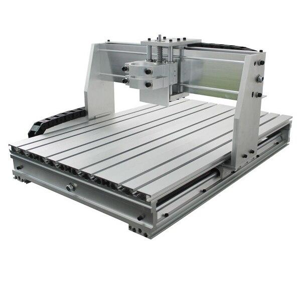 6040 CNC routeur cadre fraiseuse kit mécanique vis à billes pince en aluminium peut interchangeable 80mm