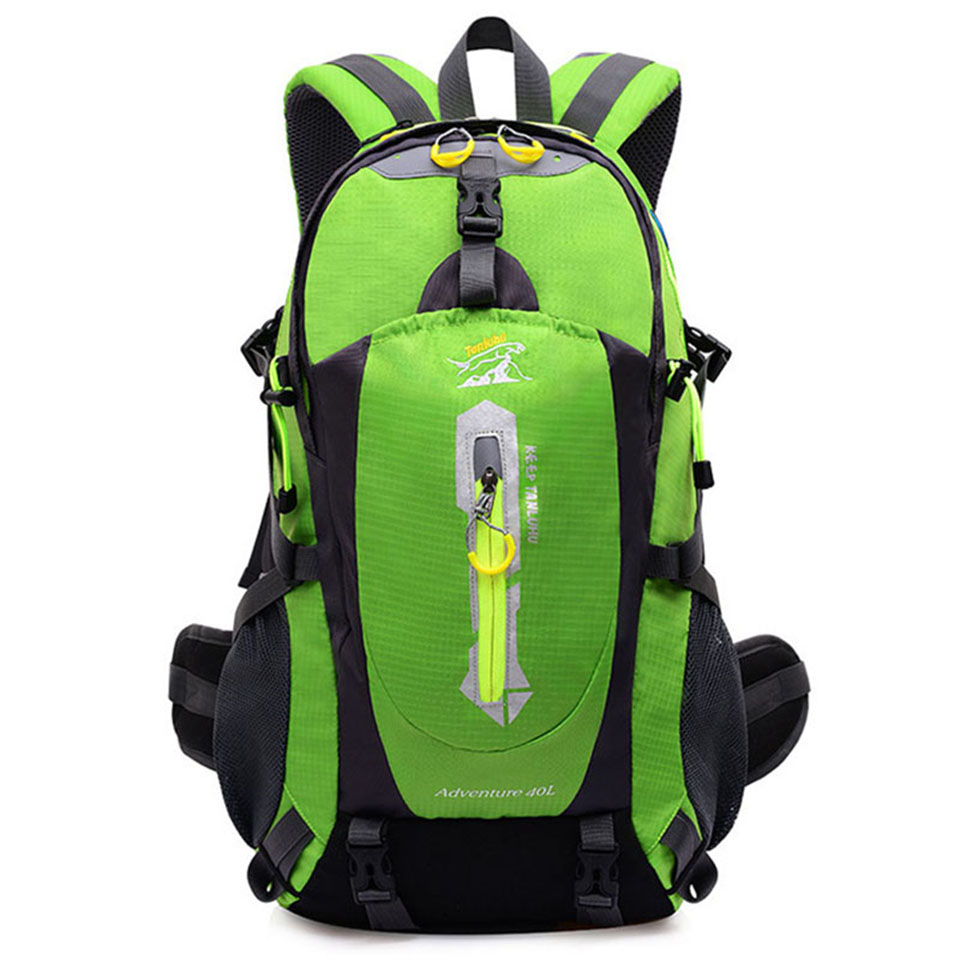 40L Waterproof Outdoor Hiking Backpack Trekking Camping Travel Bags Pack Climbing Backpack Knapsack