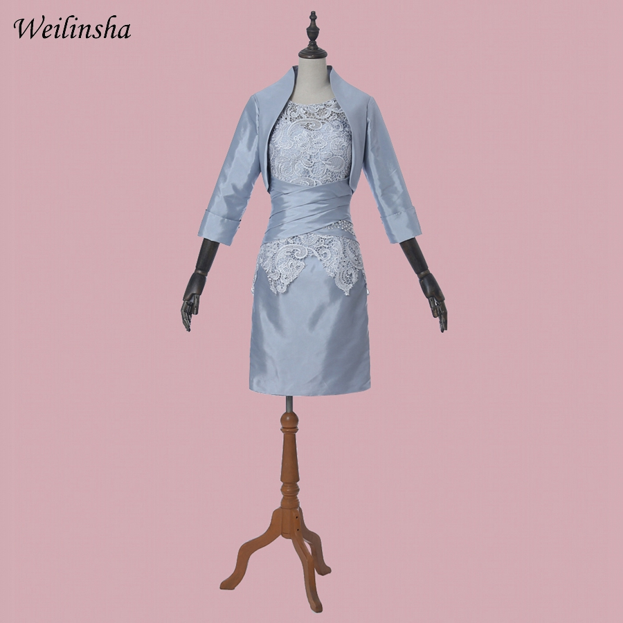 Weilinsha Lace Mother Of The Bride Dresses With Jacket