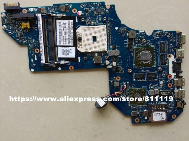 Envío libre Al Por Mayor del ordenador portátil placa madre 702177-501 para M6 HD7670M/2G 702177-001 mainboard LA-8712P 100% probado