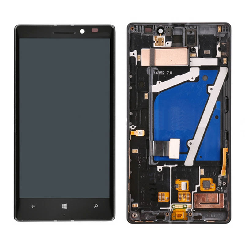 LCD Screen and Digitizer Full Assembly with Frame for Nokia Lumia 930LCD Screen and Digitizer Full Assembly with Frame for Nokia Lumia 930