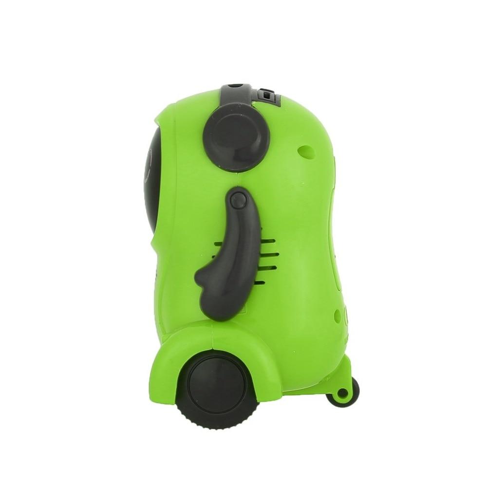 DDG-3 DDG-2  Intelligent Smart Mini Pocket Voice Recording RC Robot Recorder Freely Wheeling 360 Rotation Arm Toys for Kids Gift 12
