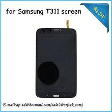 Para samsung galaxy tab 3 8.0 sm-t311 t311 t315 sm-t315 lcd pantalla + touch digitalizador asamblea sensor tablet pc panel de cristal