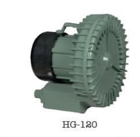 HG-120 Side Channel Air Blower Industrial Mini Vortex Blowers Double Stage Vacuum Pump