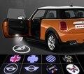 2 шт. Mini Cooper One S R55 R56 R58 R59 R60 R61 F55 F56 Countryman Clubman Дверь лазерный l усилителя проектор светодиодные фонари двери автомобиля свет