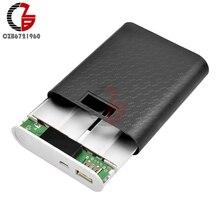 12000mAh 4X18650 power Bank чехол Мобильная usb-батарея зарядное устройство DIY коробка корпус ЖК-дисплей для iPhone Xiaomi Android Зарядка телефона