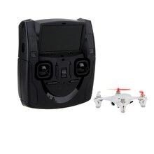 X4 H107D 6 оси Системы 5,8G FPV Quadcopter RTF Радиоуправляемый мини-Дрон с 0.3MP Камера