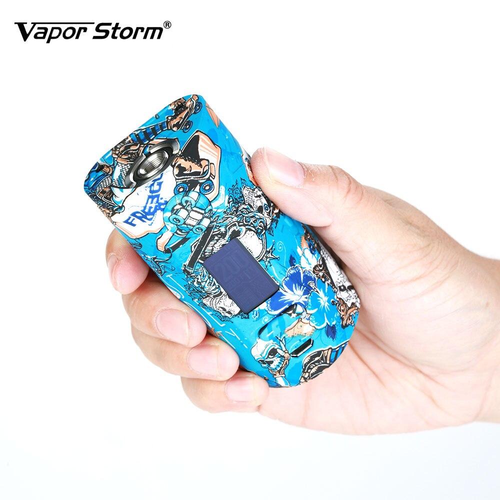 New Vapor Storm Storm230 TC Box MOD 200W Unique Graffiti Body with 0.96-inch OLED Display Fall-proof & Scratch-proof Vape Mod цена
