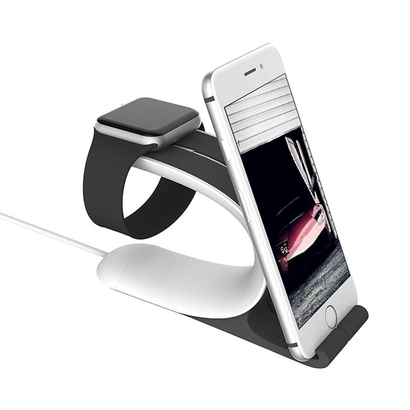 bilder für Multifunktions Apple Uhr Ständer Halter Ladestation Ladestation Für iPhone Tablet Pad Uhr Stehen Für uhr 38mm/42mm