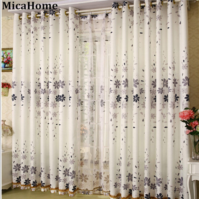 Modern Minimalist Custom Curtain Living Room Window Curtains Study Texture  Windows Half Gauze