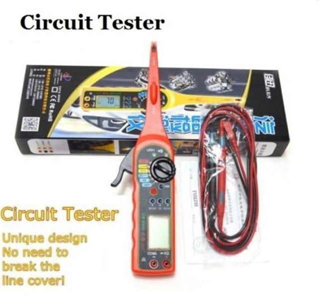 Lancol רכב רכב חשמלי מודד תיקון כלים עם דיגיטלי multi פונקציה אוטומטית במעגל Tester מודד מנורת 4 ב 1