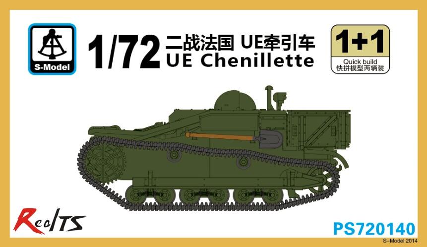 RealTS S-model PS720140 1/72 UE Chenillette