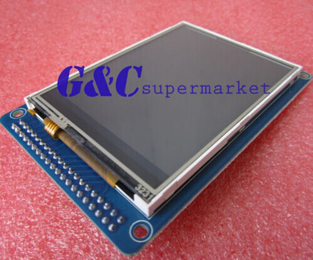 1pcs 3.2 Inch 240x320 TFT LCD Module Display With Touch Panel SD Card Diy Electronics