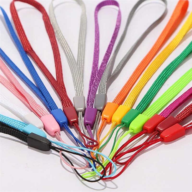 ABAY нейлоновый манжет ручной Мобильный телефон цепь брелок Шарм Шнуры веревка Lariat шнурок для ключей телефонный ремешок для Iphone XR