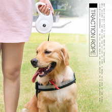 Dog Leash Small Medium and Large Automatic Retractable Rope Traction