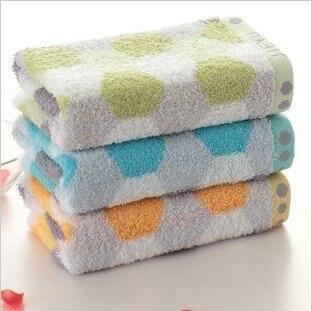 Wholesale Low Price 34*76cm 5pcs/lot 100% Cotton Absorbent Soft Towel ,Face Cloths,Washer Towel,Hand Towel
