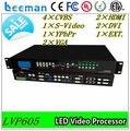 LVP605 processador de vídeo Leeman display --- dupla 15 mid bass alto-falantes line array vdwall lvp605s processador de vídeo levou