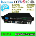 Leeman video processor LVP605 display ---dual 15 mid bass line array speakers vdwall led video processor lvp605s